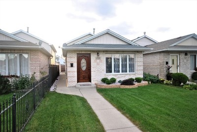 Chicago IL Single Family Home New: $259,900