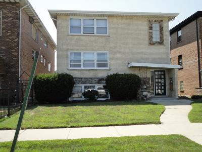 Calumet City Multi Family Home New: 1721 Memorial Drive