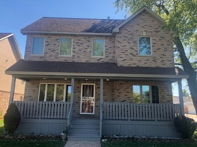 Oak Lawn Single Family Home New: 5653 West 88th Place