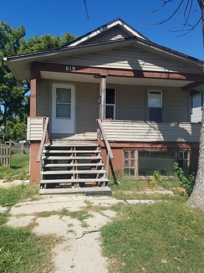 Joliet Single Family Home New: 619 West Jefferson Street