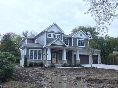 Wilmette Single Family Home New: 1110 Manor Drive