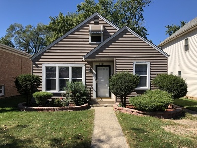 Chicago IL Single Family Home New: $179,000