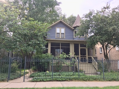 Single Family Home For Sale: 4726 North Hermitage Avenue