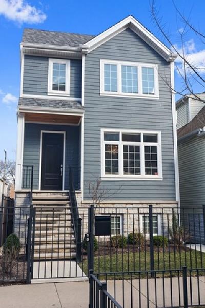 Chicago Single Family Home New: 2917 North Hoyne Avenue