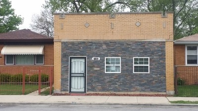 Chicago IL Single Family Home New: $97,000