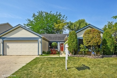 Buffalo Grove Single Family Home New: 55 Sunridge Lane