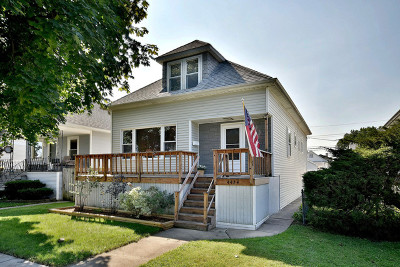 Chicago Single Family Home New: 4434 North Mobile Avenue