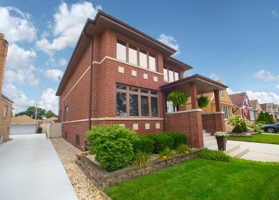 Chicago Single Family Home New: 5725 South Nashville Avenue