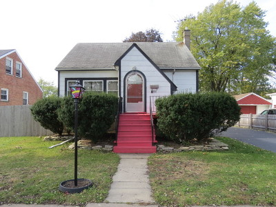 Oak Lawn Single Family Home New: 10120 South Kildare Avenue
