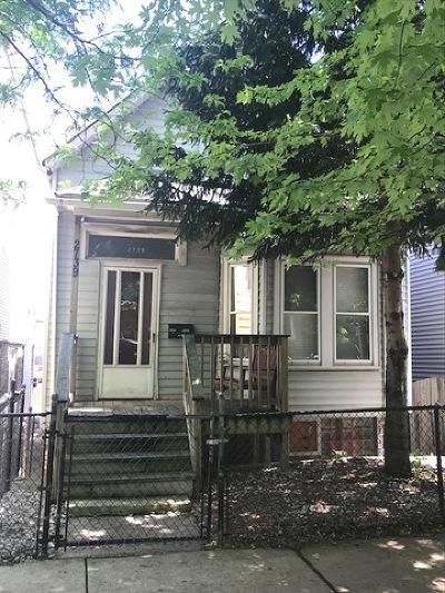 Chicago Single Family Home New: 2739 North Artesian Avenue