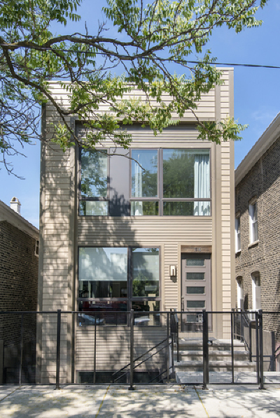Chicago Single Family Home New: 1614 North Honore Street