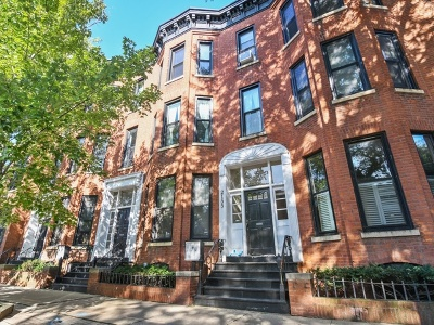 Chicago Condo/Townhouse New: 2155 North Seminary Avenue #C
