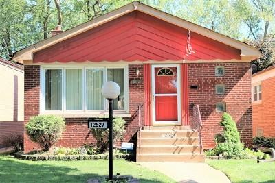 Chicago Single Family Home New: 12627 South Edbrooke Avenue