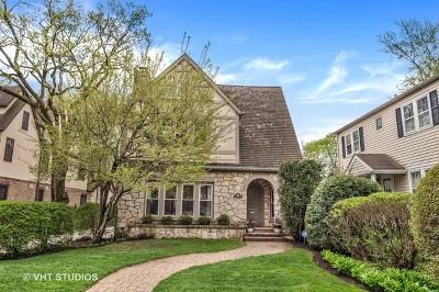Winnetka Single Family Home New: 244 Woodlawn Avenue