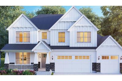 Plainfield Single Family Home New: 16423 South Wilson Lane