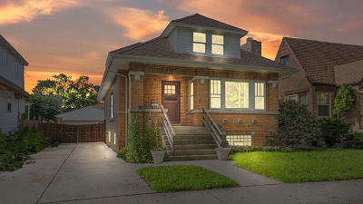 Chicago Single Family Home New: 5645 West Wilson Avenue
