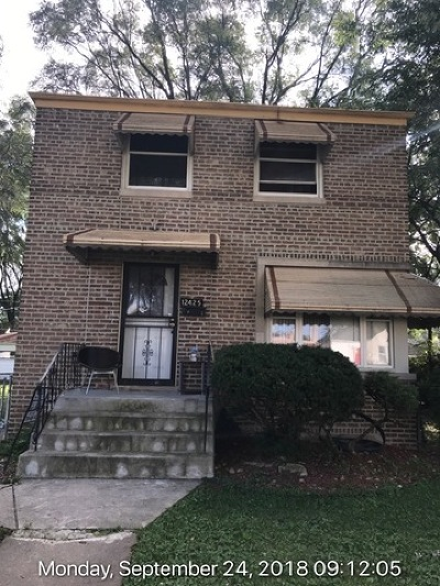 Calumet Park Single Family Home For Sale: 12425 South Aberdeen Street