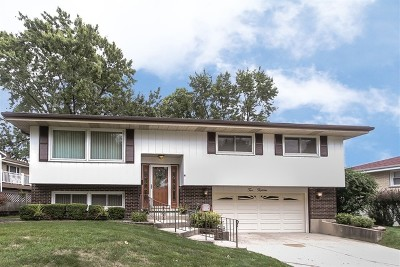 Wood Dale Single Family Home For Sale: 215 Robin Lane