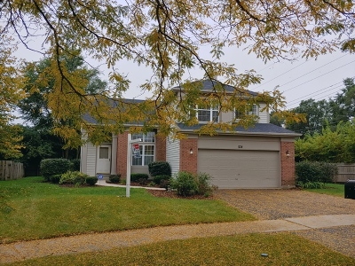 Bartlett Single Family Home New: 1134 Dorchester Lane