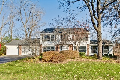 Libertyville Single Family Home For Sale: 2060 Cranbrook Road