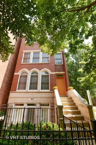 Condo/Townhouse For Sale: 4913 North Ashland Avenue #3