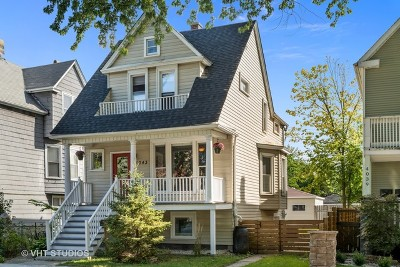 Single Family Home For Sale: 4043 North Whipple Street