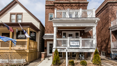 Single Family Home For Sale: 1736 West Winona Street