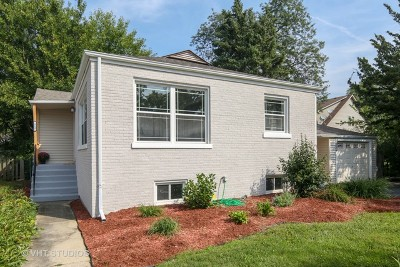 Lombard Single Family Home Price Change: 112 West Park Drive