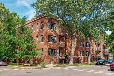Chicago Condo/Townhouse New: 1724 West Grace Street #1E