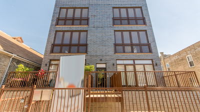 Chicago Condo/Townhouse New: 1441 West Blackhawk Street #3W
