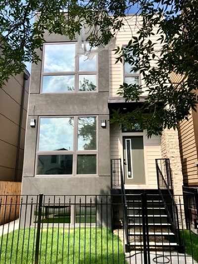 Chicago Single Family Home New: 2914 North Washtenaw Avenue