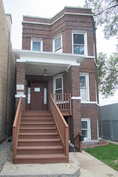 Chicago Multi Family Home New: 2519 North Pulaski Road