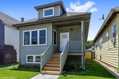 Chicago Single Family Home New: 4578 North Meade Avenue