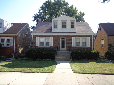 Chicago Single Family Home New: 5309 South Newcastle Avenue