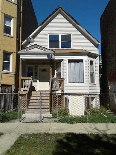 Chicago Single Family Home New: 3506 West Shakespeare Avenue