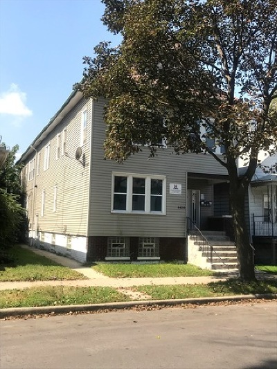 Chicago Multi Family Home New: 8620 South Marquette Avenue