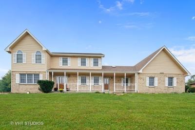 Plainfield Single Family Home New: 13262 Cathy Lane