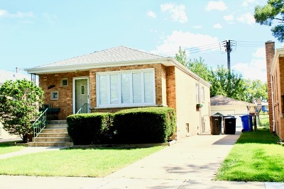 Chicago Single Family Home New: 10235 South Whipple Street