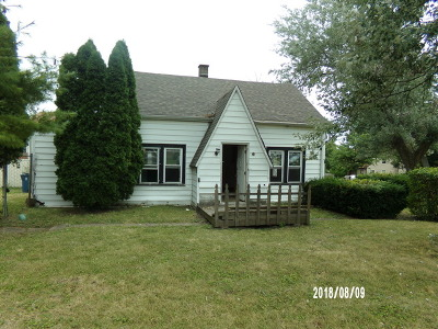Bensenville Single Family Home Re-Activated: 501 East Red Oak Avenue