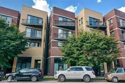 Condo/Townhouse For Sale: 2814 West Chicago Avenue #3