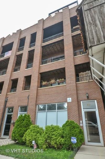 Condo/Townhouse For Sale: 517 North Racine Avenue #3