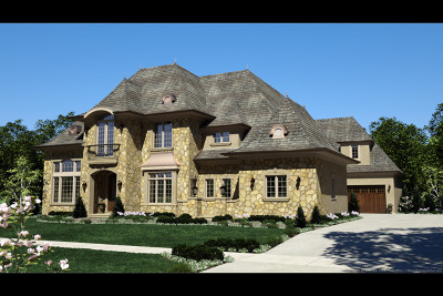 Naperville Single Family Home For Sale: Lot 4 Claremont Drive