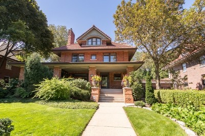 Evanston Single Family Home For Sale: 824 Sheridan Road