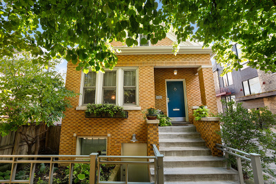 Single Family Home Price Change: 1911 West Wabansia Avenue