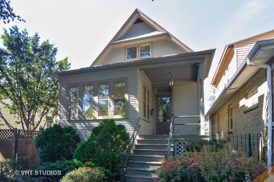 Single Family Home For Sale: 4238 North Lawndale Avenue