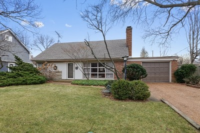 Wilmette Single Family Home For Sale: 3225 Illinois Road