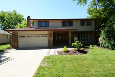 Palatine Single Family Home Price Change: 825 West Kelly Ann Drive