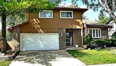 Carol Stream Single Family Home For Sale: 876 Wabash Court