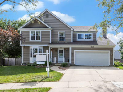 Carol Stream Single Family Home Price Change: 1146 Newburg Court