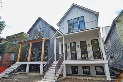 Single Family Home For Sale: 4248 North Whipple Street